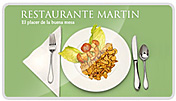 Pgina web desarrollada para el Restaurante Martn