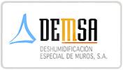 Página web desarrollada para la empresa DEMSA