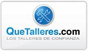 Página web desarrollada para QueTalleres.com