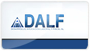 Pgina web desarrollada para la empresa DALF, SL.