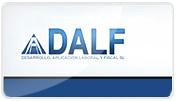 Página web desarrollada para la empresa DALF, SL.