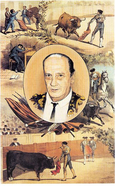 Retrato del torero Antonio Chenel, Antoñete