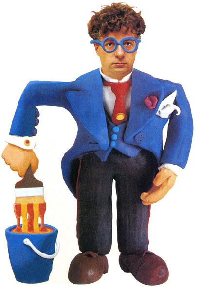 Retrato del diseñador Javier Mariscal