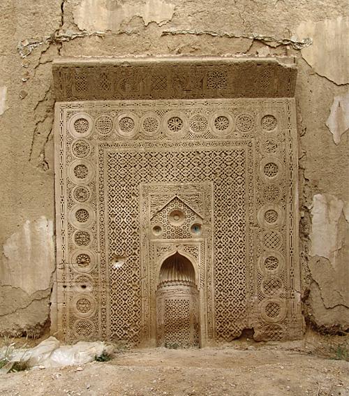 Mihrab Al-Uwayna de Wadi Bani Khalid, en Omán.