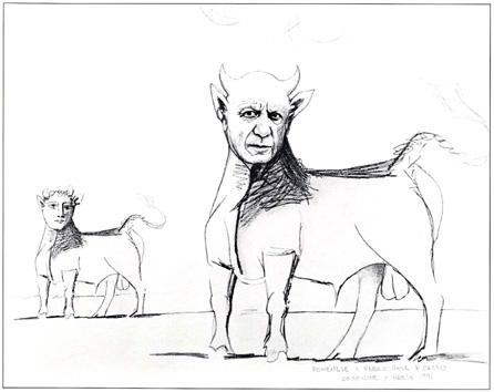 Retrato de Pablo Picasso